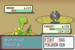 Pokemon Ruby Destiny Reign of Legends - Agh a TIE Fighter - User Screenshot